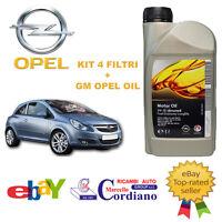 KIT TAGLIANDO + OLIO ORIGINALE GM OPEL CORSA D 1.3 CDTI MULTIJET DAL 2010