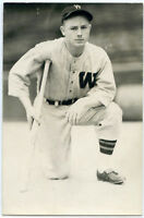 Baseball Photo Postcard of Jim Wasdell