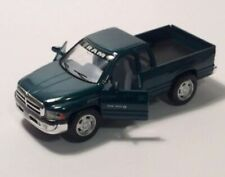 Kinsmart Dodge Ram 1500 Diecast Green Pickup Truck 1/44 Scale