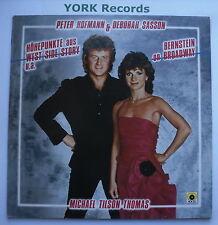 PETER HOFMANN & DEBORAH SASSON - Bernstein On Broadway - Ex LP Record FM 39535