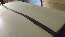 BESPOKE solid wood SYCAMORE AND WENGE Dining table TOP/ Hardwood / Not oak