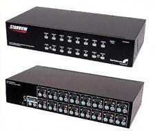 Startech StarView 16 Port KVM Switch w/OSD SV1631D