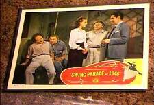 SWING PARADE OF 1946 LOBBY CARD #2 ORIGINAL 3 STOOGES CURLY MOE LARRY RARE