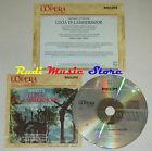 CD DONIZETTI Lucia di lammermoor CABALLE MURRAY CARRERAS grandi opera lp mc dvd