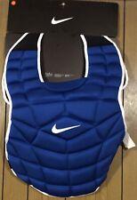 Nike Vapor 18� Baseball Catcher Chest Protector Blue/White (Pbp428-468) Mrsp$200