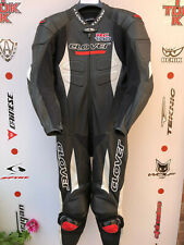Clover RC100 1 piece race suit with hump uk 38 euro 48