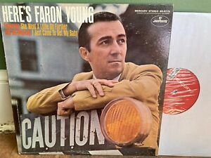 """""""Here's Faron Young"""" AUTOGRAPHED, NM stereo copy"""