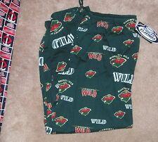 NEW NHL Minnesota Wild Loungewear Sleepwear Pajama Pants Men L Large NEW NWT