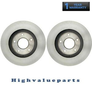 1 Pair BR31277 Front Brake Rotors Left and Right for Infiniti I30 2000 2001 New