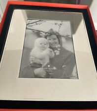 """Kate Spade Picture Perfect """"Nearest and Dearest� Silverplated Picture Frame Bnwt"""