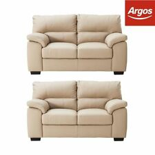 Unbranded Leather Two Seater Sofa Modern Furniture Suites