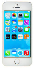Apple iPhone 5s - 64GB - Silver (Unlocked) A1533 (CDMA + GSM)