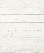 EUR 2,81/qm / Tapete Rasch 799606 Holzoptik Weiß Grau / Shabby Chic
