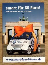 SMART CAR-Smart für 60 euro! carte postale flyer
