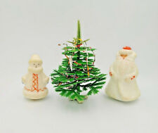 "VINTAGE USSR 1960""s Santa Claus Snow Maiden Ded Moroz Christmas Doll Tree HELP"