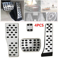 4pcs DIY Footrest Gas Brake Pedal For Mercedes Benz W204 W205 W211 W212 W213 C E