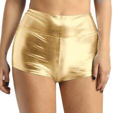 Women's Booty Shorts Hot Shorts Pants Yoga Dancewear Rave Party Clubwear Costume