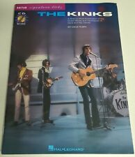 THE KINKS SIGNATURE LICKS GUITAR TAB SONGBOOK TABLATURE MUSIC BOOK  WITH CD