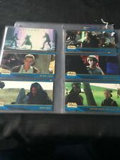 Star Wars episode 1 Wide Vision Trading Cards Series 2 Set Of 80 Cards.