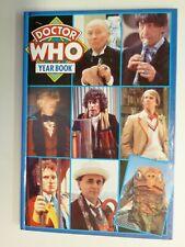 Doctor Who Yearbook 1992 Hardback Marvel Comics Ltd