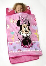 Disney Minnie Mouse Toddler Nap Mat Blanket Pillow Plush Girls Baby Brand New