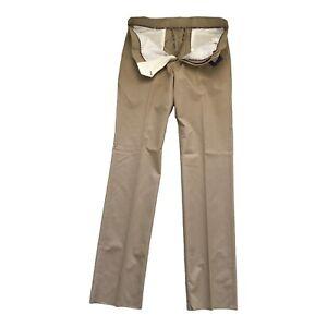 """Paul Smith """"LONDON"""" Luxury Beige Trousers  34 Waist"""