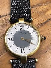 Cartier Vermeil Ladies Watch