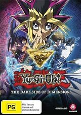 Yu-Gi-Oh: The Dark Side of Dimensions - Egyptian NEW R4 DVD