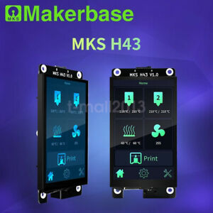 New MKS 4.3 inch Smart Display Controller Capacitive Touch Screen for 3D Printer