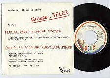 "TELEX Twist a Saint Tropez FRENCH 7""45 w/PS VOGUE(1978)Marc MOULIN synth pop EX+"