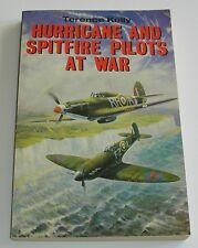 Hurricanes and Spitfire Pilots At War, WWII, RAF, Military, Softcover, 1988