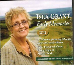 "ISLA GRANT - Brand NEW 3 CD SET ""EARLY MEMORIES"" - 42 Songs - Irish Country"