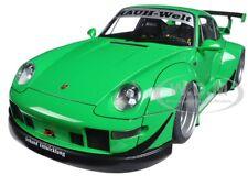 PORSCHE RWB 993 GREEN/GUN GREY WHEELS 1/18 MODEL CAR BY AUTOART 78151
