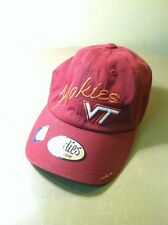 Ladies Virginia Tech Hokies Hat NEW Bedazzled sparkly pretty 100% cotton VT