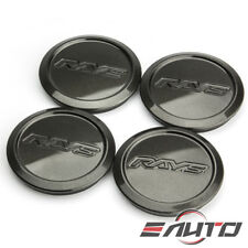 4x Rays Volk Racing Center Cap ZE40 TE37 CE28 RE30 Diamond Black / Dark Gunmetal