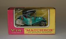 MATCHBOX y-14-10 1911 Maxwell Roadster con sedili ROSSO SCURO IN SCALA 1:49