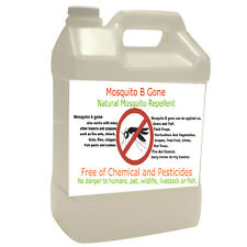 Natural Mosquito repellent 1 gallon, spray or inject through fertigation System