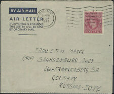 England Airmail Letter Oxford after Sachsenburg 20. 1. 47 (845039)