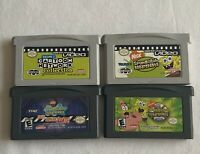 Gameboy Advance Video Cartoon Network & Spongebob Vol.2 & + 2 Spongebob Games!