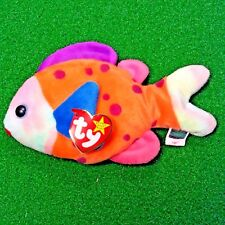 MWMT 1999 Ty Beanie Baby Lips The Fish Retired Plush Toy - FREE Shipping