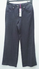Marks and Spencer Linen High Rise 28L Trousers for Women