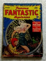 Famous FANTASTIC MYSTERIES Sept 1943 • C.L. MOORE Taine CHAMBERS • Sci-Fi PULP