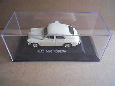 GAZ M20 POBEDA Legendary Cars 1:43 Die Cast in Box in Plexiglass [MV10]