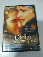 Otoño en Nueva York Richard Gere Winona Rider - DVD Español - 1T