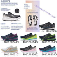 Asics Glideride 2 Men Women GUIDESOLE Cushion Road Running Shoes Sneakers Pick 1