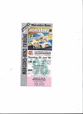 DTM Sammler Ticket NORISRING 1996, ITC Championship 23.06.1996, not used @ neu @