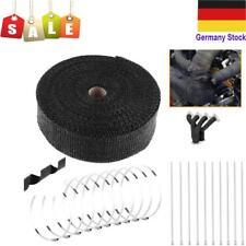 15m Hitzeschutzband Hitzeschutz Heat Wrap Krümmer Auspuff Band 2000° 50mm Breite