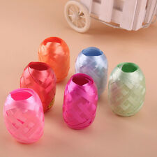 High Grade 6pcs 5mm×10m Balloon Solid Color Curling Ribbon Roll Wedding Decor