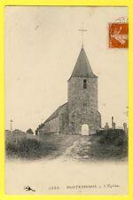 CPA France 58 - MONTENOISON (Nièvre) L'ÉGLISE du Village Clocher du XVIe Siècle