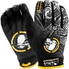 "NEW METAL MULISHA TUCKER ROCKY ""VOLT"" GLOVES - BLK/YLW - M & L - 100% GENUINE"